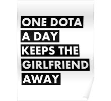 One Dota a Day... Poster