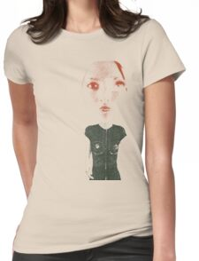 broken doll Womens Fitted T-Shirt