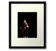 Chinese puppet Framed Print