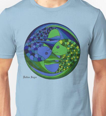 pisces yin yang Unisex T-Shirt