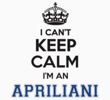 APRILIA, cant, keep, calm by icant