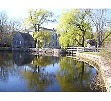 Old Cape Cod Mill 3 Photographic Print