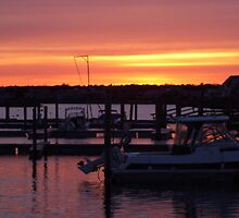 Cape Cod Sunset by Christine Frydenborg Dargon