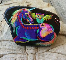 Rock'N'Ponies - SPIKE & THE HOOTOWL by louisegreen
