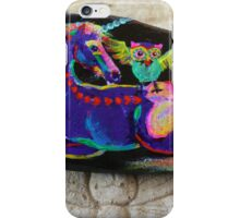 Rock'N'Ponies - SPIKE & THE HOOTOWL iPhone Case/Skin