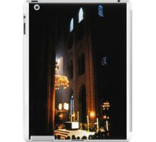Inside Notre Dame Cathedral  iPad Case/Skin
