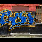 Graffiti Triptych by billbirtch