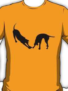 STRETCHING DOGS T-Shirt