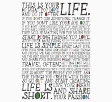 This Is Your Life. One Piece - Short Sleeve