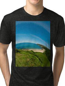 Kinnagoe Bay (as half a planet :-) Tri-blend T-Shirt