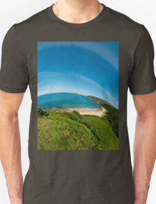 Kinnagoe Bay (as half a planet :-) Unisex T-Shirt