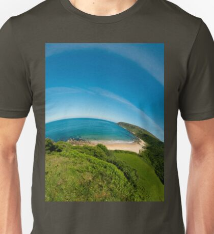 Kinnagoe Bay (as half a planet :-) T-Shirt