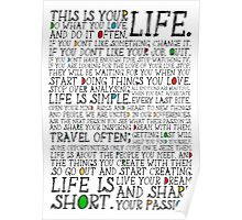 This Is Your Life. Poster