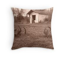 Tractor Tools Throw Pillow