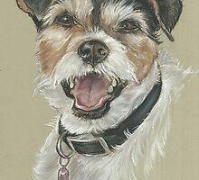 Terrier portrait by jdportraits