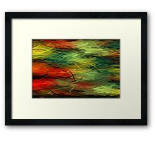 Colorful Painting Abstract Background #5 Framed Print