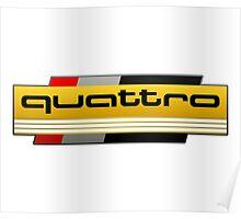 Audi Quattro Tribute Poster