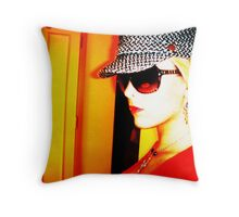 vintage design Throw Pillow