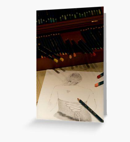 Drawing Francesca Greeting Card