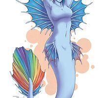 Mermare Rainbow Dash by rewynd