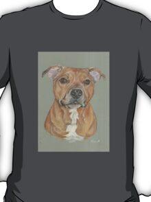 Terrier portrait in pastel T-Shirt