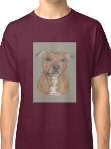 Terrier portrait in pastel Classic T-Shirt