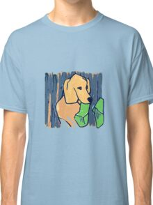 GOLDEN RETRIEVER WELCOME HOME  Classic T-Shirt