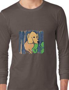 GOLDEN RETRIEVER WELCOME HOME  Long Sleeve T-Shirt