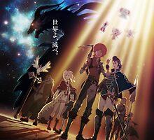 Anime: SHINGEKI NO BAHAMUT by shuuheii