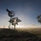 Outback Sunrise Lightshow by David Haworth