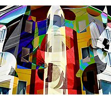 Digital Graffiti Photographic Print