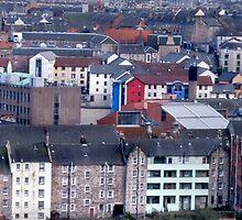 Edinburgh Old Town by Chris Clark