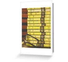 Teen Mystery Library Greeting Card