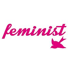 Pink and White Sparrow Feminist Design by hellosailortees