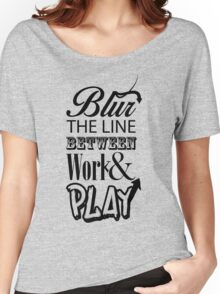 Blur the Line... Women's Relaxed Fit T-Shirt