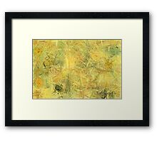 Colorful Painting Abstract Background #6 Framed Print