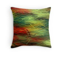 Colorful Painting Abstract Background #5 Throw Pillow