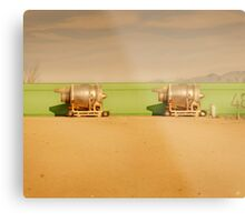 Twin Engines Metal Print