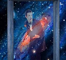 The Doctor in The TARDIS by osgoods-bowtie