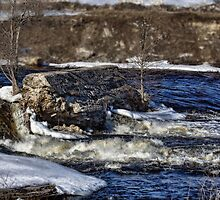 Moving waters - Moira River by greyrose