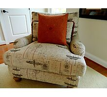 Comfy  Chair Photographic Print