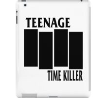 Teenage Time Killer - Black Flag Logo iPad Case/Skin