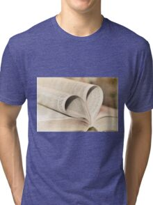 Pages of Love Tri-blend T-Shirt