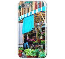 Roanoke VA - Unloading Flower Truck iPhone Case/Skin