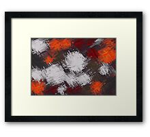 Colorful Painting Abstract Background #9 Framed Print