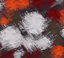 Colorful Painting Abstract Background #9 by Nhan Ngo