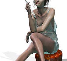 Convinced Smoker I by DigitalFox