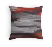 Colorful Painting Abstract Background #10 Throw Pillow