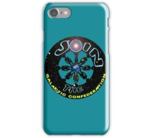 join the galactic confederation iPhone Case/Skin