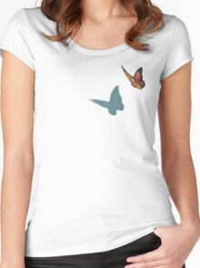 Monarch  Women's Fitted Scoop T-Shirt